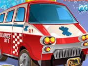game Ambulance Car Wash