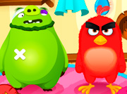game Angry Birds Meet Red Nurse