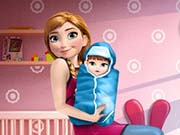 game Anna And The New Born Baby