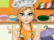 game Anna cooking hot crispy