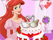 game Ariel Wedding Cake