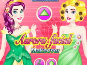 game Aurora Facial Makeover