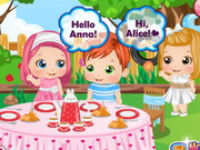 game Baby Alice Tea Party
