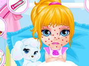 game Baby Barbie Chickenpox Attack