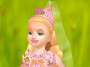 game BABY BARBIE GREAT MANICURE