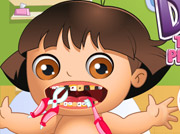 game BABY DORA TOOTH PROBLEMS BABY DORA TOOTH PROBLEMS