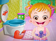 game BABY HAZEL BATHROOM HYGIENE
