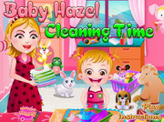 game Baby Hazel Cleaning Time