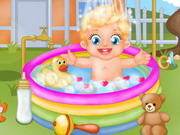 game Baby Lizzie Outdoor Bathing