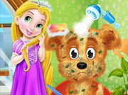 game Baby Rapunzel adopt a Pet