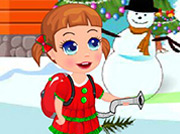 game Baby Seven Christmas Clean Up