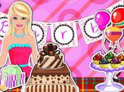 game Barbi Birthday Party