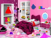 game Barbie Bedroom Clean