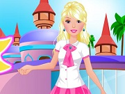 game Barbie Going To School