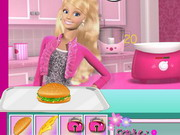 game Barbie Hamburger Shop