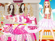 game Barbie Love Princess Dressup