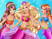 game Barbie Mermaid Coronation
