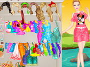 game Barbie Picnic Princess Dressup