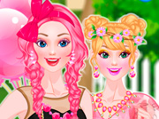 game Barbie Pretty In Pink