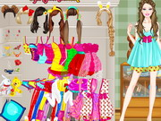 game Barbie Sleepover Dressup