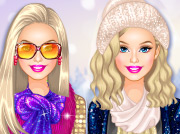game Barbie Winter Shopping Spree