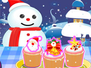 game Christmas Cuppy Cake