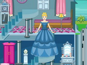 game Cinderella Castle Doll House
