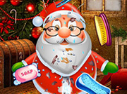 game Clean Up Santa