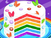game Cooking Rainbow Birthday Cake