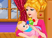 game Cute Baby Feeding