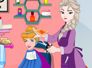 game Disney Princess Hair Salon
