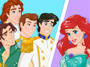 game Disney Princess Speed Dating
