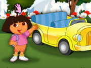 game Dora At Car Show