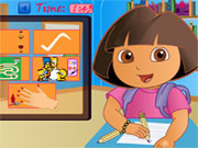 game Dora Fun Slacking