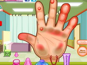 game Dora Hand Doctor Caring