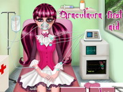 game Draculaura First Aid