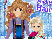 game Elsa And Her Mom Hairstyle