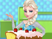 game Elsa Cooking Classic Pound Cake