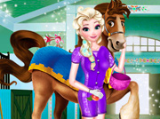game Elsa Equitation Contest 2
