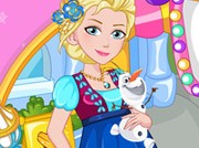 game Elsa Mom To Be Shopping