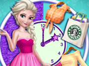 game Elsa Round The Clock Fashionista