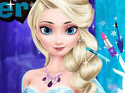 game Elsa Stylish Makeover