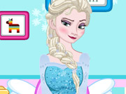 game Elsa Toilet Decoration