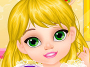 game Fairytale Baby - Rapunzel Caring