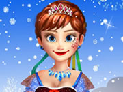 game Frozen Anna Natural Makeover