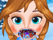 game Frozen Anna Throat Care