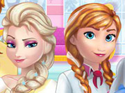 game Frozen Family cooking Wedding Cake
