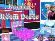 game Frozen Room Decoration