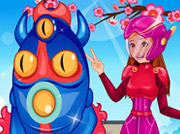 game Honey Lemon & Fred Dress Up