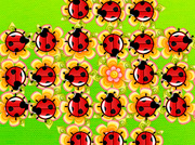 game Jumping Ladybugs